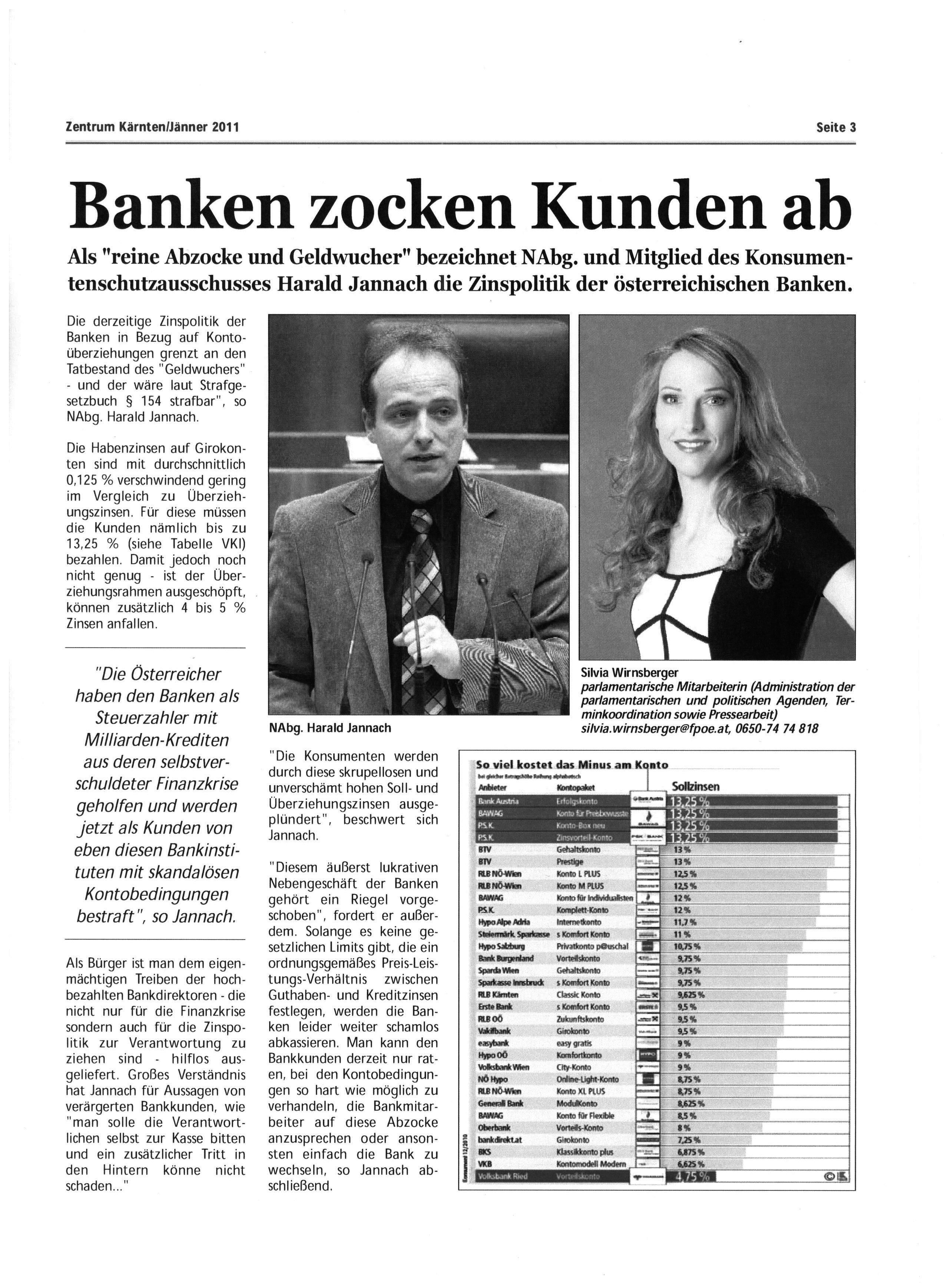 Banken zocken Kunden ab!